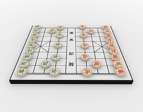 Chiness Chess - Xiangqi 3D asset