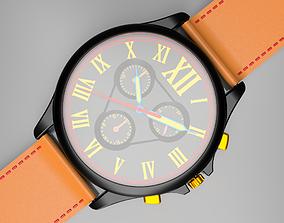 3D asset Wrist Watch