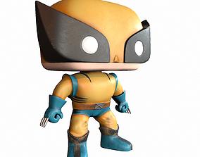 3D model Wolverine Toy PBR