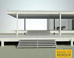 Farnsworth House 3D