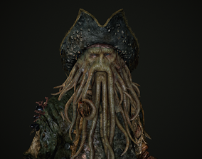 3D model Davy Jones - Pirates of the Caribbean