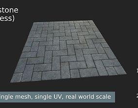 3D asset Texture paving stone - seamless