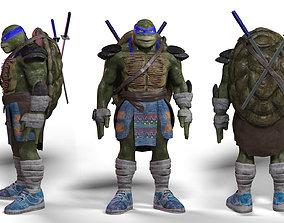 ninja turtle leonardo game model 3D asset