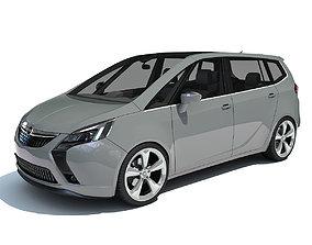 Opel Zafira 3D Car Model