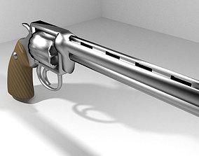 3D Revolver - Handgun Type 2