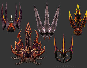 game-ready 3DRT - fantasy arms Claws