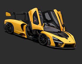 2018 McLaren Senna 3D asset