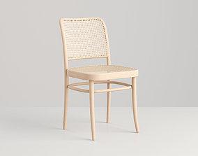 3D Chair Rattan Raw