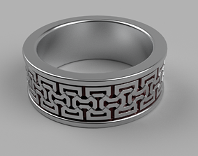 Celtic Ring 2 3D printable model
