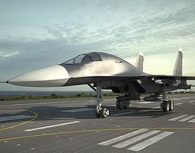 3D Sukhoi Su-34