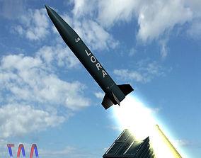 Lora Missile 3D model