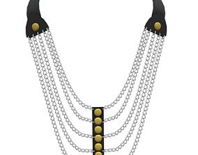 Bracelet 3D model game-ready