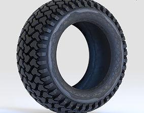 Offroad Tire Wheel Design 3D model