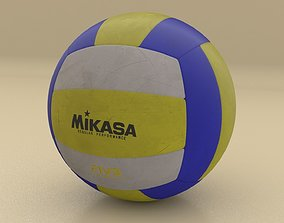 Professional Volley Ball 3D model