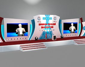 3d Stage Decor 002