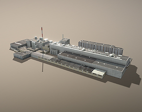 3D model Plant LOWL Linz Factory