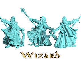 Wizard 3D printable model
