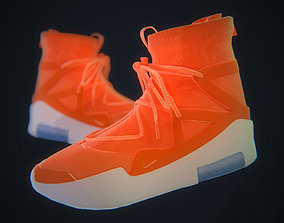 Nike Air Fear of God - Orange 3D asset