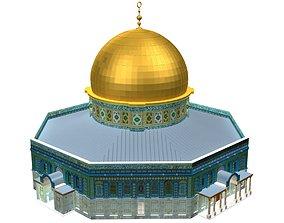 Al Aqsa Mosque Mezroca 3D