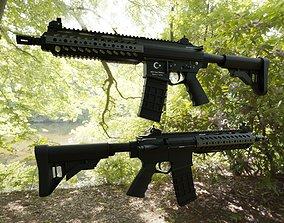 3D model weapon MPT-55 Assault Rifle