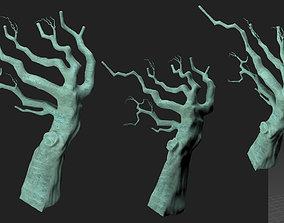 3D dry wood