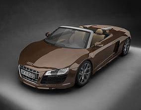 2011 Audi R8 Spyder 3D model