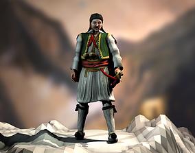 3D asset animated Athanasios Diakos