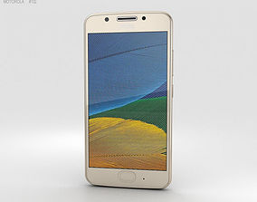 3D model Motorola Moto G5 Fine Gold