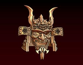 Samurai helmet 3D printable model