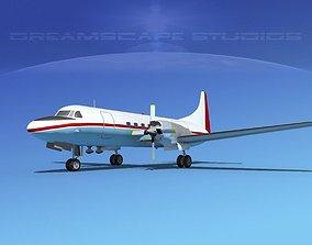 3D Convair CV-580 Sea Air Motive
