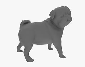 mops scilpture 3D print model