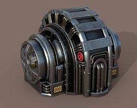 3D asset Industrial Generator