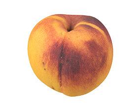 Photorealistic Peach 3D Scan 2