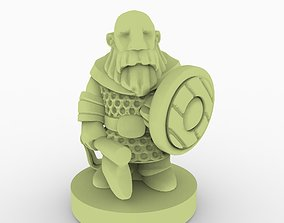 Gnome 3D printable model game