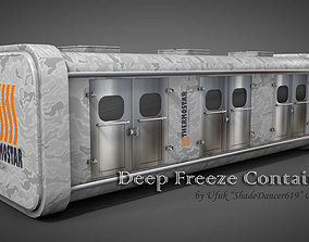 Deep Freeze Container 3D