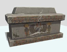 Sarcofag low poly 3D model
