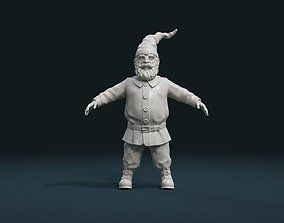 Gnome Sculpture 3D printable model