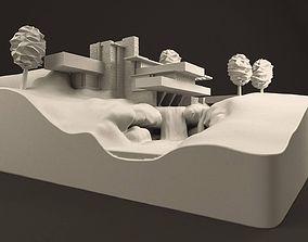 Fallingwater House - 3D Printable