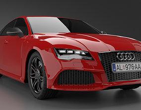 Car - Audi RS7 Sportsback 3D model