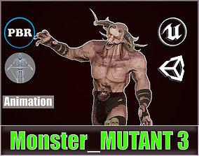 Monster Mutant 3 3D model