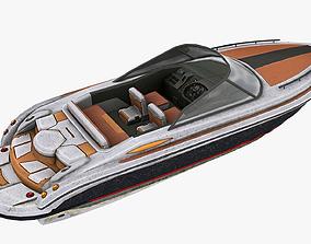 3D model Motorboat
