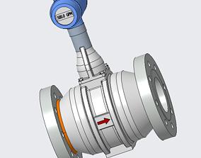 hydraulic 3D Ultrasonic Vortex Flowmeter