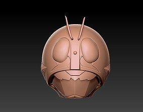 3D printable model Kamen rider - V1 Head