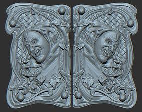 3D print model Backgammon