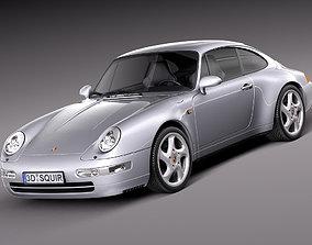 3D Porsche 911 993 Carrera 1994-1997