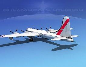 Boeing B-50 Superfortress V03 3D model