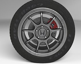 Honda Wheel year 3D