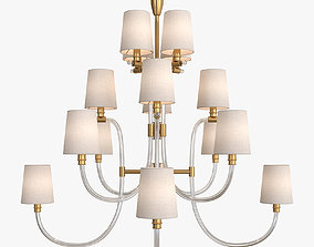 3D lighting Clarice Large Chandelier by Julie Neill