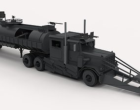 Dreadnought from movie Death race 3D model