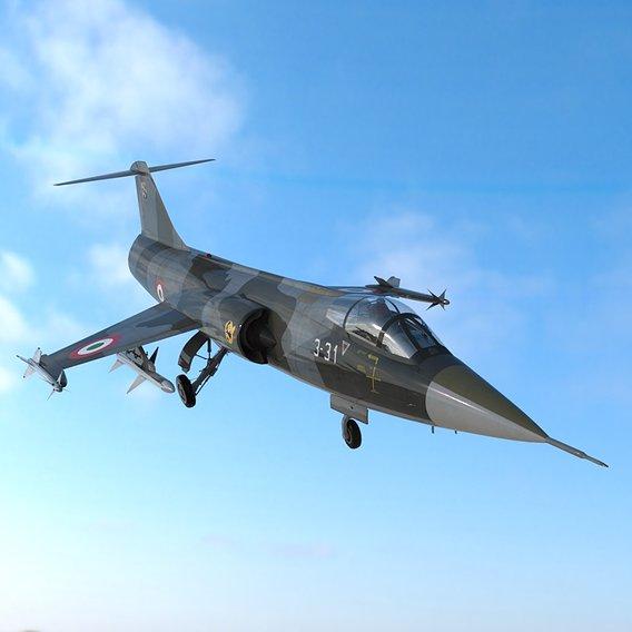 Lockheed F104 Starfighter